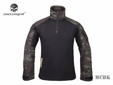 Emerson Combat Gen3 Shirt Airsoft Hunting Military Tactical Shirt Multicam Black