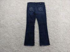 Rock Republic Jeans Mens 30x30 Kasandra Blue Embroidered Logo Pocket