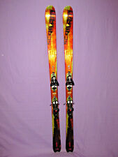 Salomon Scream 10 XTRA HOT Pilot skis 175cm w/ Salomon s912 Ti adjust. bindings~