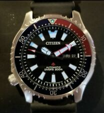 Citizen Promaster Asia Fugu Limited Edition Pepsi Bezel Diver Watch