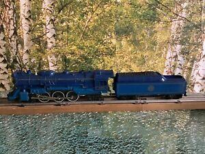 LIONEL #8801 DIE CAST 4-6-4 BLUE COMET STEAM LOCO & TENDER IN ORIGINAL BOX