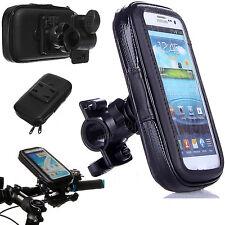 Bicicleta Motocicleta Manillar Soporte Impermeable Funda para Teléfono Móvil