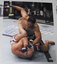 Antonio Rogerio Nogueira Signed 16x20 Photo BAS Beckett COA UFC 140 Picture Auto