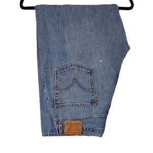 """LEVIS 569 Mens Jeans Loose Straight Blue Denim SIZE W36 L30 Waist 36"""" Leg 30"""""""