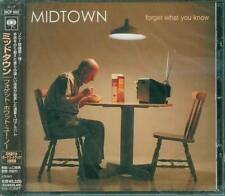 Midtown - Forget What You Know Japan CD +2BONUS - NEW
