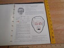 1940 Arthur Schwerin Actors Character make-up book horror age etc RARE Eldridge