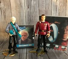"""Playmates Star Trek TOS """"Kirk and McCoy"""" 4.5"""" Action Figures w/Accessories"""