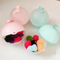 Makeup Puff Storage Case Powder Sponge Travel Container Portable Cosmetic Cute