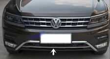 2016Up VW Tiguan Allspace Chrome Front Bumper Streamer 1Pieces Stainless Steel