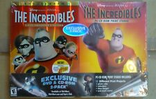 The Incredibles 2-disc Collector's Ed Dvd + CdRom Print Studio Set Brand New !