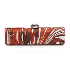 Stella McCartney Multicolor Silk Minauduere Clutch Extra Small NEW $1250