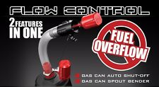 RISK RACING FLOW CONTROL AUTO GAS CAN SHUT-OFF 2IN1