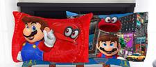 Nintendo Super Mario Standard Reversible Pillowcase Microfiber - 20x30