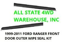 FORD RANGER 99-2011 Front Door Outer Window Weatherstrip PAIR 6L5Z1021452AA 53AA