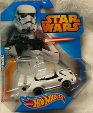 Hot Wheels 2014 Star Wars Storm Trooper 1:64 Scale FAST FREE SHIPPIING !!!