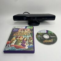 Microsoft Xbox 360 Kinect Sensor Black With Kinect Adventures Game