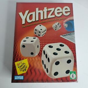 Yahtzee Board Game Classic Sealed In Box Brand New Never Opened