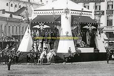 "mm517 - Czar Nicholas II Romanov troop Review 1903 on Theatre Sq - photo 6x4"""