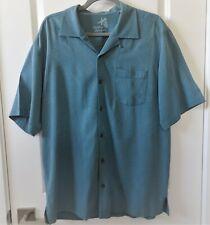 Tommy Bahama Floral Short Sleeve Button Down Shirt Medium $128.00