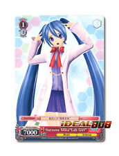 "Weiss Schwarz Project DIVA x 4 Hatsune Miku""Lab Girl"" [PD/S22-E068 C] English"
