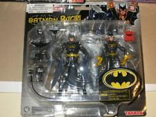 TAKARA MICROMAN BATMAN & BATGIRL ACTION FIGURE SET NEW DC Comics