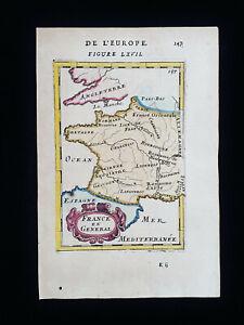 1683 A.M. MALLET: France, Paris, Brittany, Loire, Nice, Gaule, Nantes, Tours