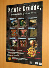 KKND2 Krossfire Video game Rare Old Advertising Small Poster Promo Ad Print PS1