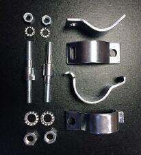 Front fork damper / shock absorber bolt on bracket kit for Lambretta series 3