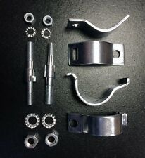 Amortiguador De Horquilla Delantera/Kit De Amortiguadores Perno en Soporte Para Lambretta Serie 3