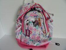 """High Sierra 19"""" FAT BOY Laptop Backpack: WONDERLAND PINK LEMONADE TECH SPOT"""