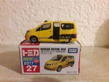 Tomica Nissan NV200 Taxi van - special color release.