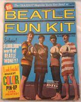 Beatles Fun Kit Original 1964 Oversize Magazine