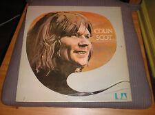 Colin Scott LP 1970 UK Press Peter Gabriel VDGG Yes Fripp Brinsley Schwarz Prog