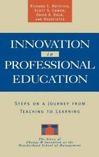 Innovation in Professional Education : Steps on a Journey from Teaching to...