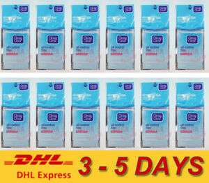 12x CLEAN and CLEAR OIL CONTROL FILM BLOTTING PAPER REMOVES OILY SHINE 60 SHEETS