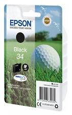 1x ORIGINAL TINTE PATRONEN EPSON 34 WorkForce Pro WF-3720 WF-3725 DWF Golfball