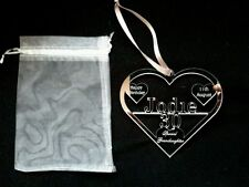 personalised birthday gift 18th 21st 40th heart shape