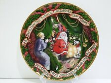 Fitz & Floyd The Night Before Christmas Collector's Plate 1994