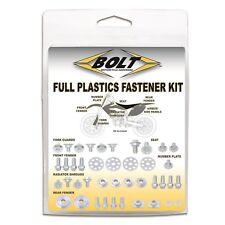 Kawasaki KX 65 2000 - 2019 Plastic Fastener Kit Replacement Bolts Nuts