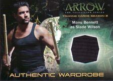 Arrow Season 2 Manu Bennett as Slade Wilson M15 Wardrobe Card