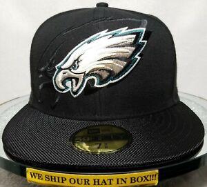 Philadelphia Eagles~NFL~New Era~59FIFTY~Sideline Collection~16 On-Field Headwear