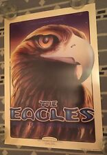 SIGNED By RANDY TUTEN THE EAGLES 1994 SHORELINE BGP95 POSTER Walsh Henley
