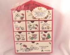 Sanrio Hello Kitty advent Calendar chest NEW red with candies