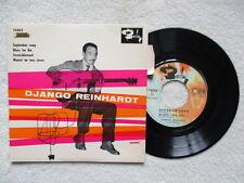 "45T 7"" DJANGO REINHARDT ""September Song"" BARCLAY 74042 FRANCE languette §"