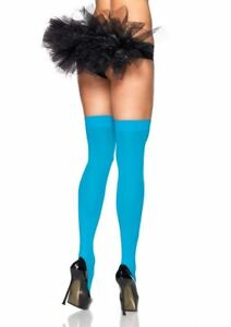 Leg Avenue Over Knee 6672 Opaque Nylon Stockings Plus/Regular