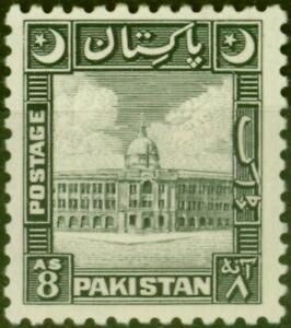 Pakistan 1949 8a Black SG49 V.F Very Lightly Mtd Mint