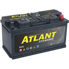 Autobatterie 100Ah 12V 830A/EN ATLANT TOP ANGEBOT SOFORT & NEU 100 Ah