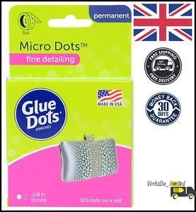 Glue Dots Clear Dot Roll Set, Multi-Colour, 3 mm