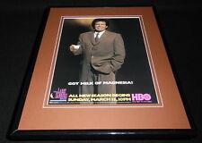 Larry Sanders Show 1998 HBO Framed ORIGINAL 11x14 Advertisement G Shandling