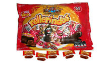 Vero Rellerindos Tamarind Hard Candy With Soft Center Mexican Candy Dulce 65 Pcs